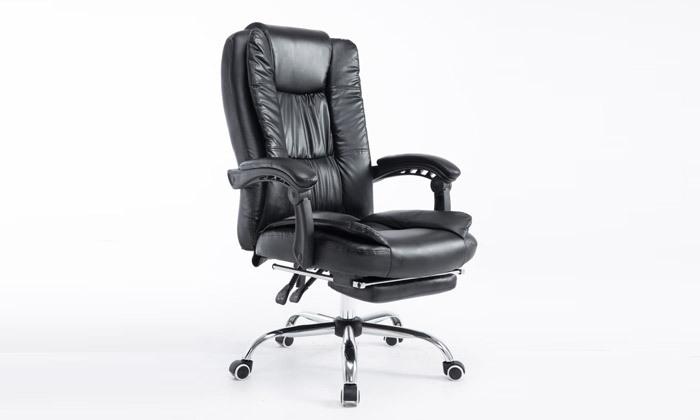 5 כיסא מנהלים עם הדום,דגם GREG - צבע לבחירה