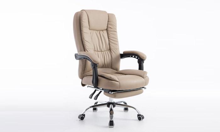 6 כיסא מנהלים עם הדום,דגם GREG - צבע לבחירה