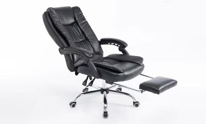 7 כיסא מנהלים עם הדום,דגם GREG - צבע לבחירה