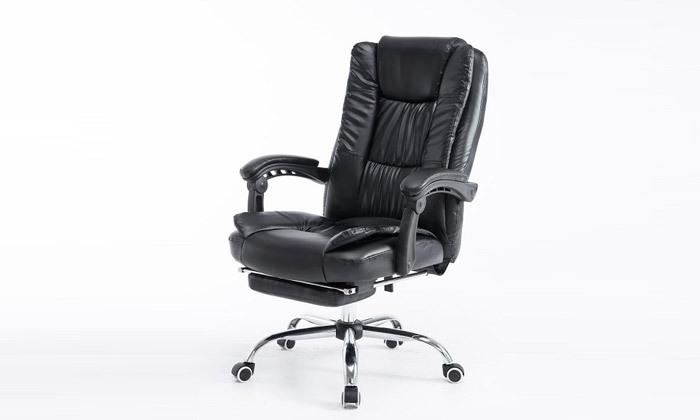 8 כיסא מנהלים עם הדום,דגם GREG - צבע לבחירה