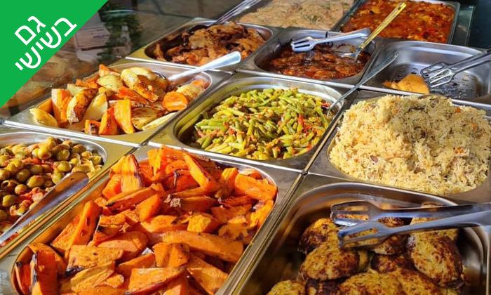 2 שובר הנחה על אוכל מוכן ממסעדת מאכלה, תל אביב