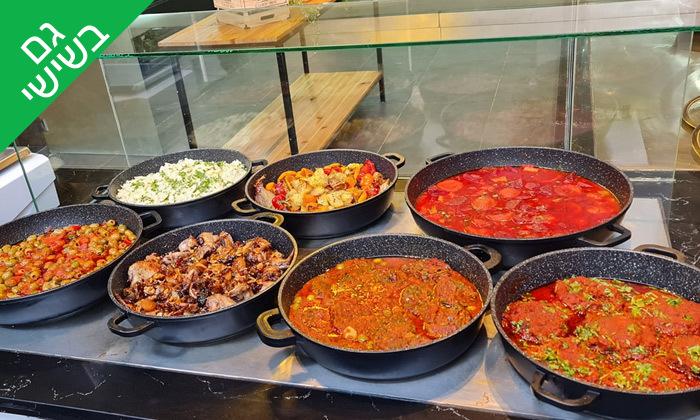 3 שובר הנחה על אוכל מוכן ממסעדת מאכלה, תל אביב