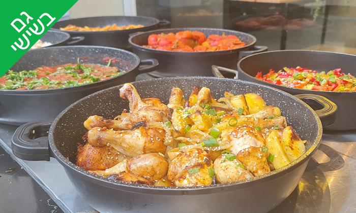 9 ארוחה ליחיד כולל שתייה במסעדת מאכלה, תל אביב