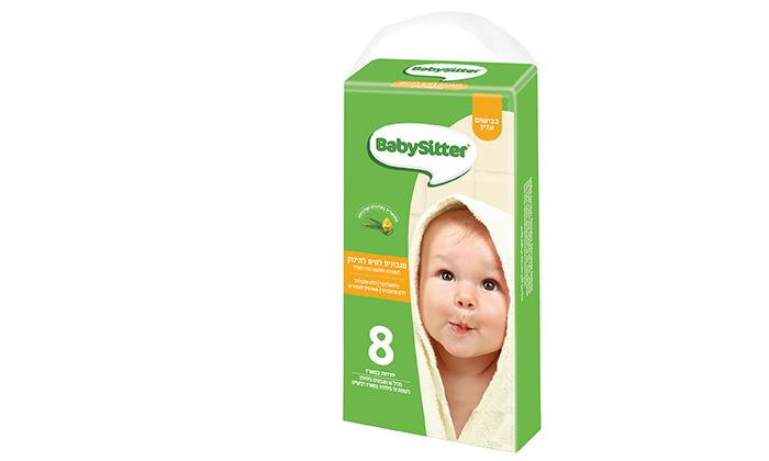 3 32 חבילות מגבוני BabySitter בבישום עדין, רק 3.1 ₪ לחבילה