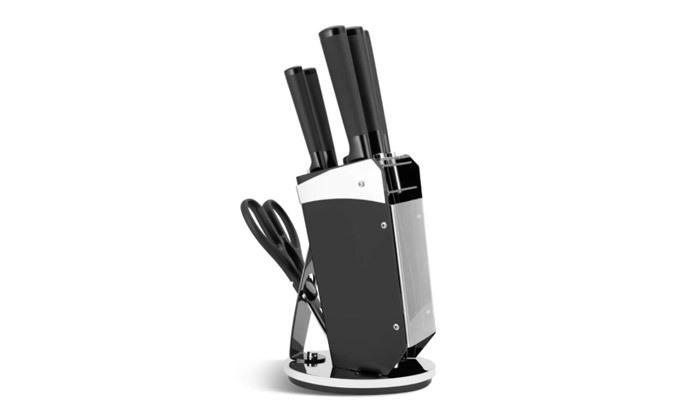 4 סט סכינים 8 חלקים כולל מעמד Edenberg