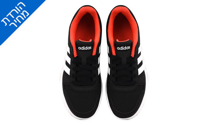 3 דיל לזמן מוגבל: נעלי סניקרס לנשים אדידס Adidas דגם HOOPS 2.0 K