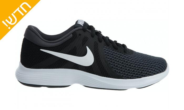2 נעלי ספורט לנשים נייקי Nike דגםRevolution בצבע שחור