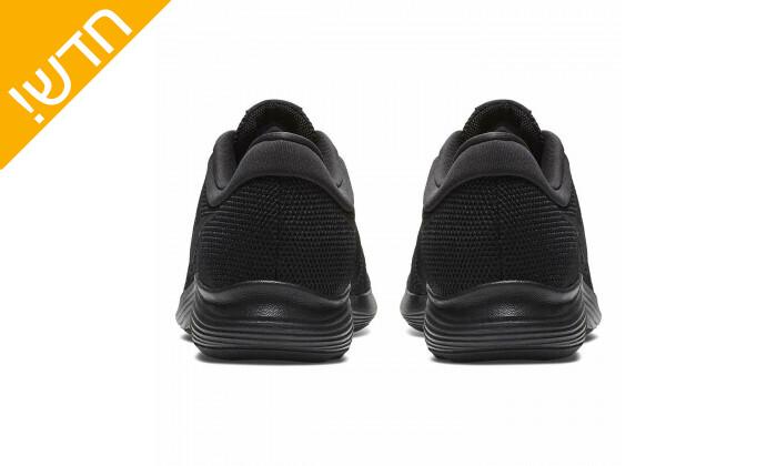 5 נעלי ספורט לגברים נייקי Nike דגםRevolution בצבע שחור