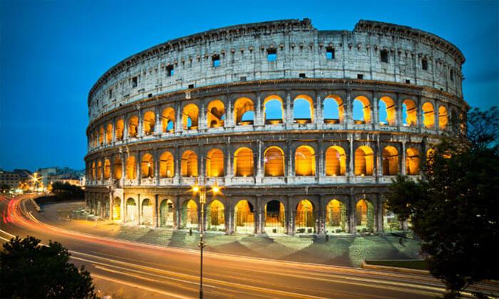 3 חופשה איטלקית באוגוסט: 3 לילות ברומא