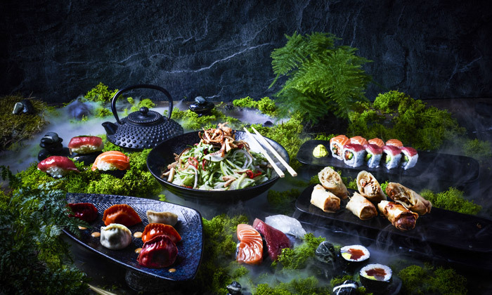 2 ארוחה זוגית עם קינוח במסעדת נגיסה NAGISA - סניף רעננה הכשר למהדרין