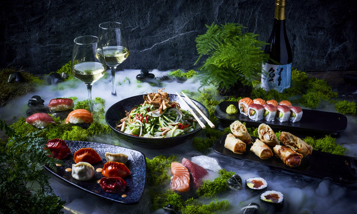 9 ארוחה זוגית עם קינוח במסעדת נגיסה NAGISA - סניף רעננה הכשר למהדרין