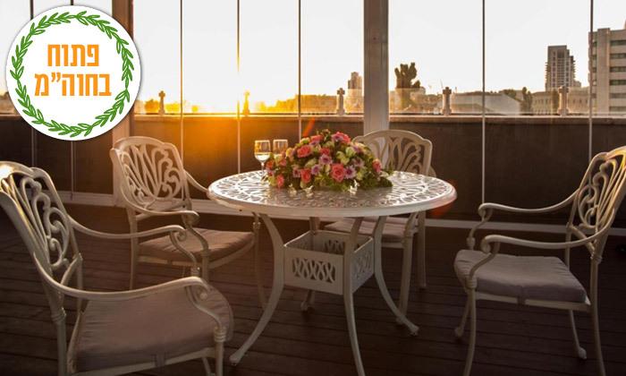 6 חופשה זוגית במלון הבוטיק אגריפס - מחנה יהודה ירושלים