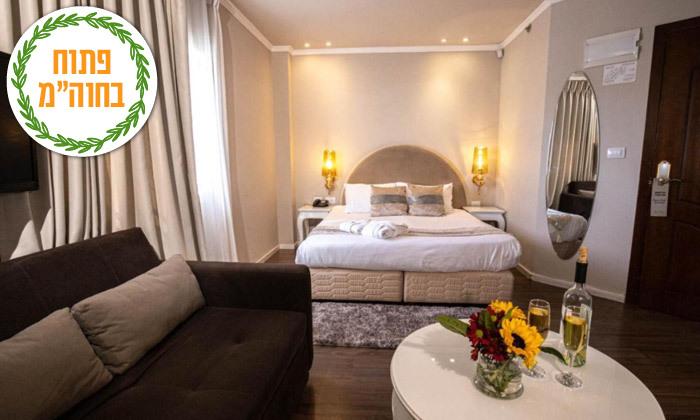 5 חופשה זוגית במלון הבוטיק אגריפס - מחנה יהודה ירושלים