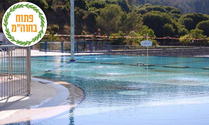 8 כניסה לפארק הטרמפולינות iJump ולבריכה באגם מונפורט, מעלות תרשיחא
