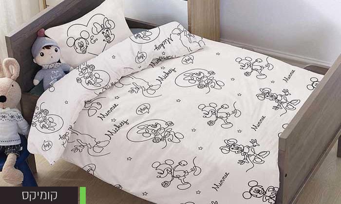 5 דיל לזמן מוגבל: סט מצעי Disney למיטת מעבר HOMESTYLE - דגמים לבחירה