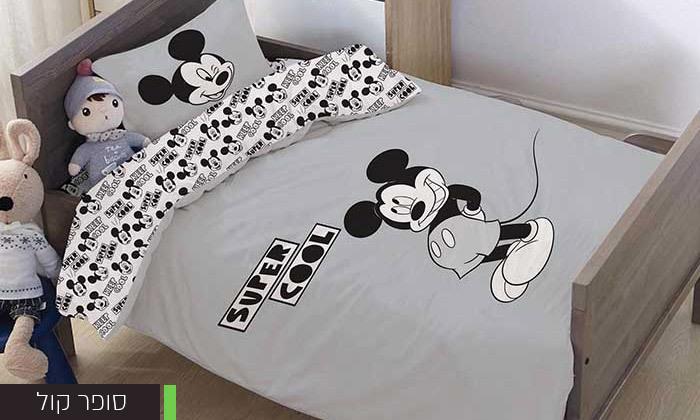 6 דיל לזמן מוגבל: סט מצעי Disney למיטת מעבר HOMESTYLE - דגמים לבחירה