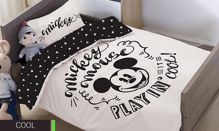 10 דיל לזמן מוגבל: סט מצעי Disney למיטת מעבר HOMESTYLE - דגמים לבחירה