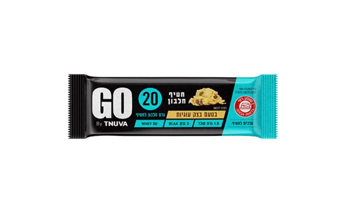 4 24 חטיפי חלבון תנובה GO במבחר טעמים - רק כ-8.3 ₪ לחטיף