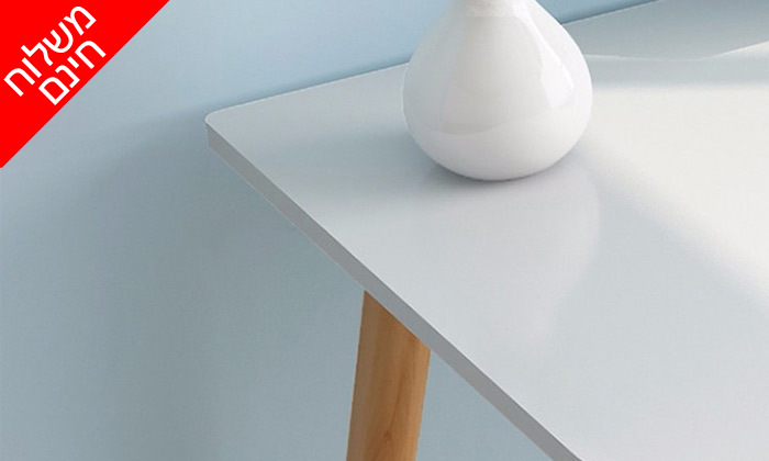 8 שולחן מחשב BELLWORKS כולל מטען אלחוטי - מידות לבחירה ומשלוח חינם