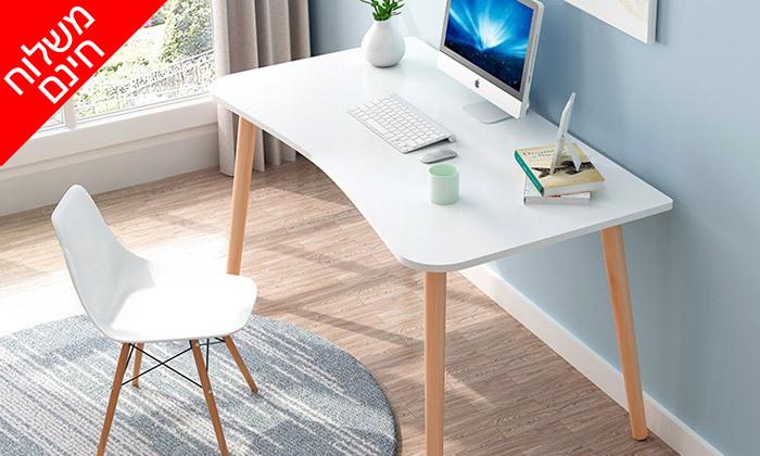 9 שולחן מחשב BELLWORKS כולל מטען אלחוטי - מידות לבחירה ומשלוח חינם