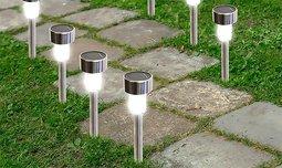 5 דוקרני תאורה סולארית