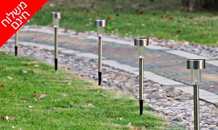 4 מארז 10/20 יחידות דוקרני תאורה מנירוסטה - משלוח חינם
