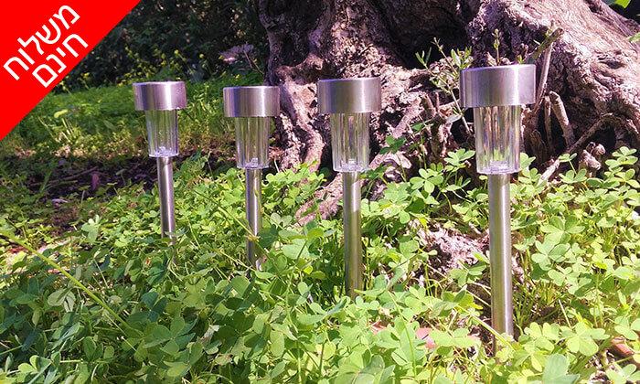 5 מארז 10/20 יחידות דוקרני תאורה מנירוסטה - משלוח חינם