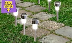10 דוקרני תאורה סולארית