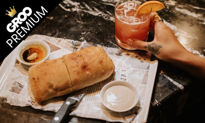 """7 ארוחה זוגית במסעדת סופרה Supra, רוטשילד ת""""א"""