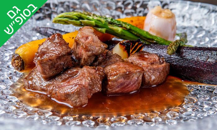 2 ארוחת שף זוגית עם יין וקינוח במסעדת Ultra Bar Food&Wine, תל אביב