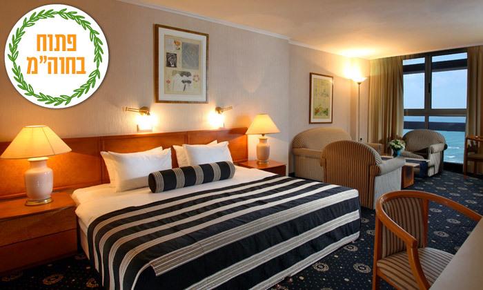 6 ספטמבר-אוקטובר מול הים במלון העונות, נתניה - אופציה לסוכות