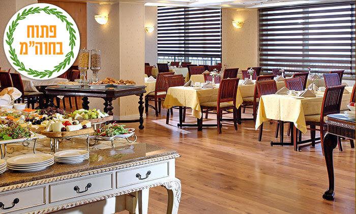 7 ספטמבר-אוקטובר מול הים במלון העונות, נתניה - אופציה לסוכות