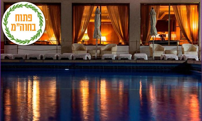 11 ספטמבר-אוקטובר מול הים במלון העונות, נתניה - אופציה לסוכות