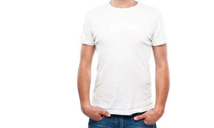 9 מארז 10 חולצות טי שירט 100% כותנה לגברים - צבעים לבחירה