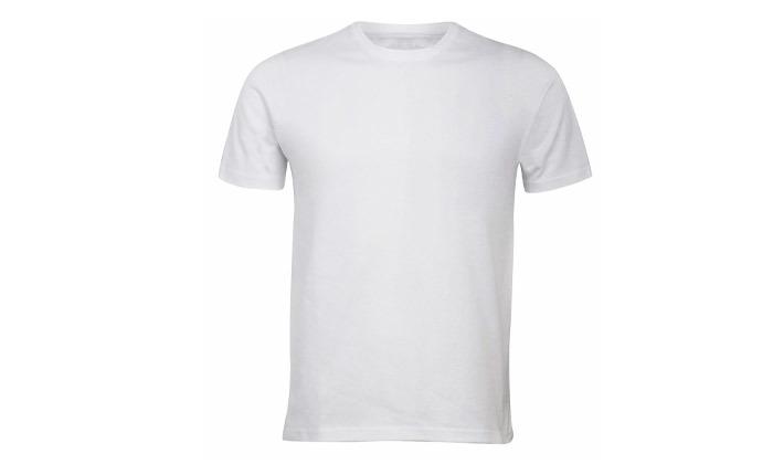 8 מארז 10 חולצות טי שירט 100% כותנה לגברים - צבעים לבחירה
