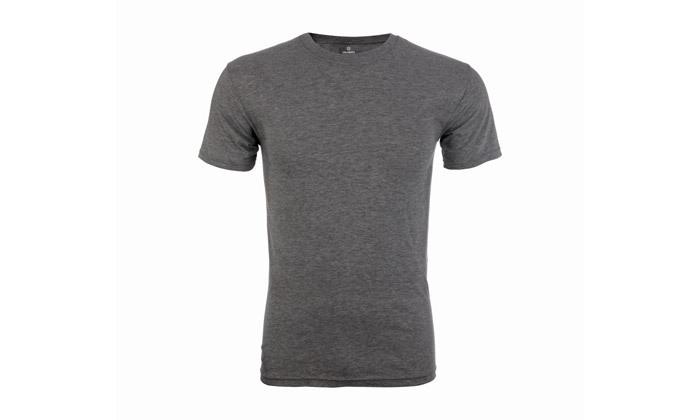 4 מארז 10 חולצות טי שירט 100% כותנה לגברים - צבעים לבחירה