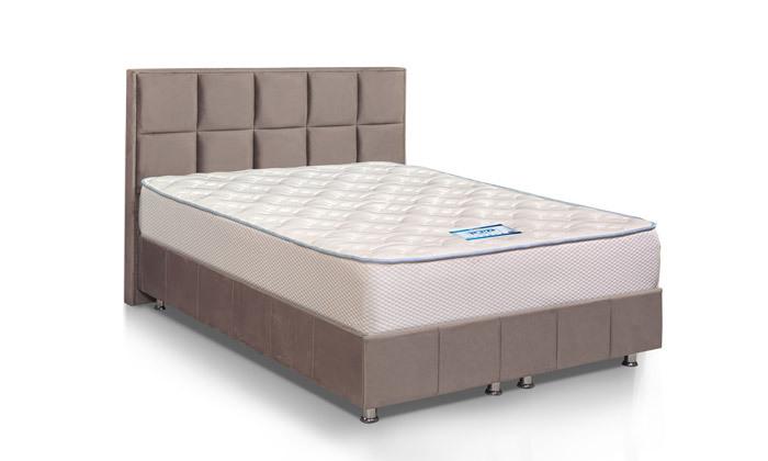 6 מזרן זוגי ברקן, דגם מירון ויסקו - כולל מגן מזרן וייעוץ שינה