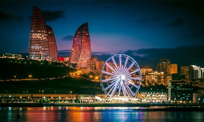 10 אוקטובר בבאקו, אזרבייג'ן: טיסות ישירות, העברות ו-3/4/7 לילות במלון Hilton