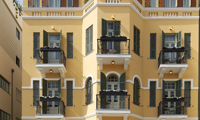 """10 חופשה אורבנית בלב תל אביב: לילה לזוג במלון הבוטיק Sam&Blondi, אופציה לסופ""""ש"""