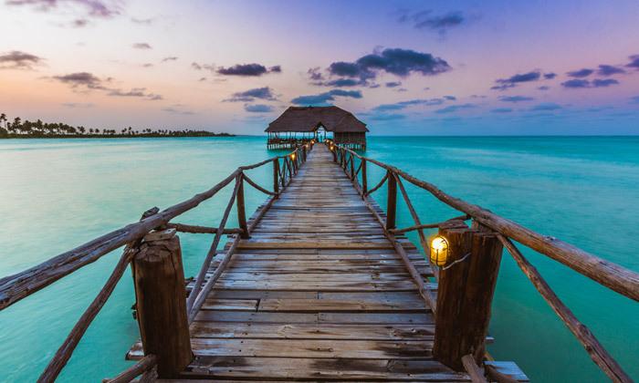 4 8 ימים בגן עדן: טיסות ישירות לזנזיבר עם מזוודות, גם בסוכות