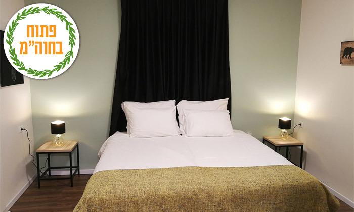 11 נופש בכנרת: לילה במלון לאגו עם ארוחת בוקר וכניסה לחמי טבריה, גם בסוכות