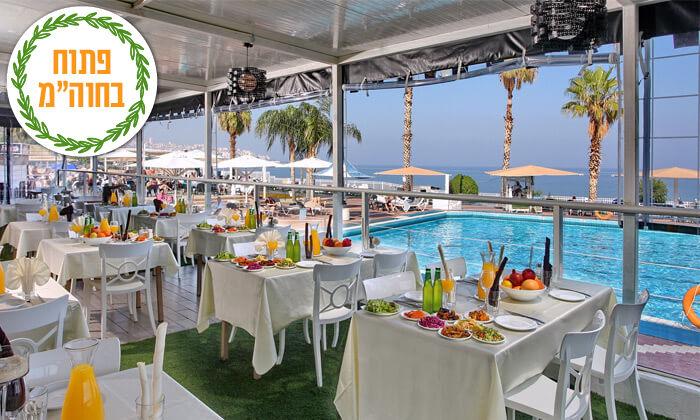9 נופש בכנרת: לילה במלון לאגו עם ארוחת בוקר וכניסה לחמי טבריה, גם בסוכות