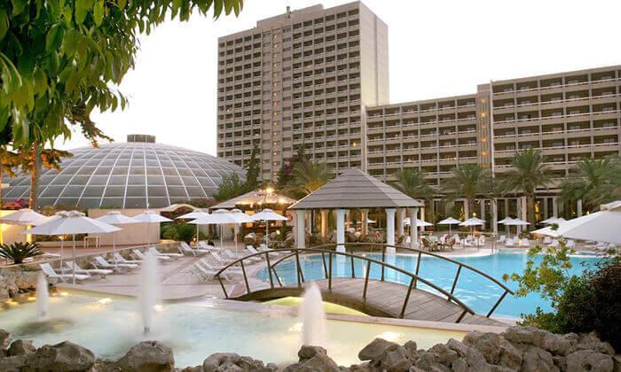 """3 ספטמבר ברודוס: 3-7 לילות במלון 5 כוכבים Rodos Palace Hotel ע""""ב חצי פנסיון עם טיסות ישירות, גם בסוכות"""