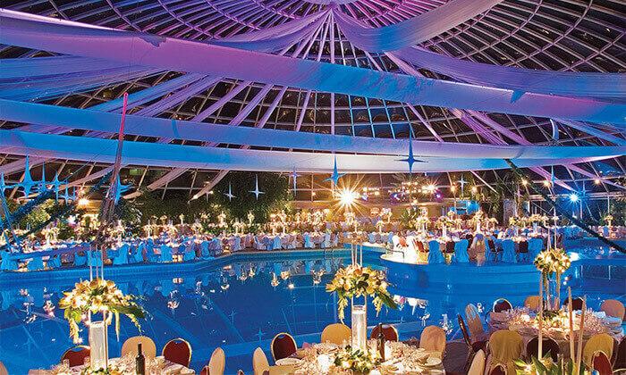 """7 ספטמבר ברודוס: 3-7 לילות במלון 5 כוכבים Rodos Palace Hotel ע""""ב חצי פנסיון עם טיסות ישירות, גם בסוכות"""