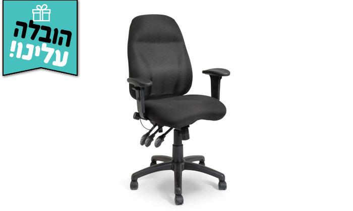 """3 דר"""" גב: כיסא משרדי דגם DELTA - צבעים לבחירה ומשלוח חינם"""