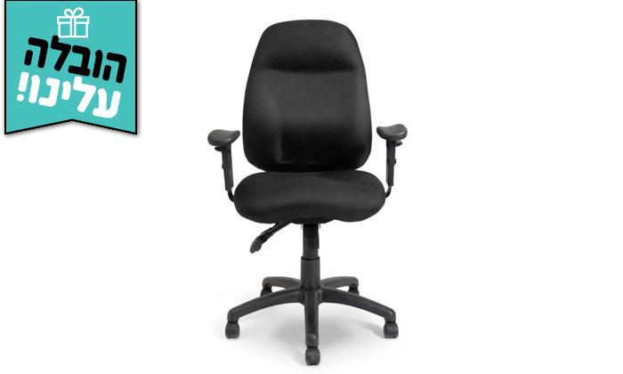 """4 דר"""" גב: כיסא משרדי דגם DELTA - צבעים לבחירה ומשלוח חינם"""