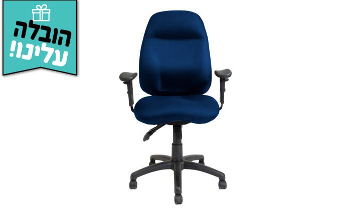 """5 דר"""" גב: כיסא משרדי דגם DELTA - צבעים לבחירה ומשלוח חינם"""
