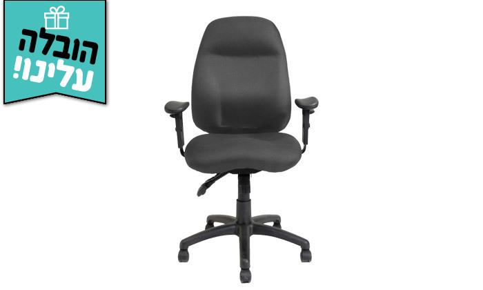 """6 דר"""" גב: כיסא משרדי דגם DELTA - צבעים לבחירה ומשלוח חינם"""