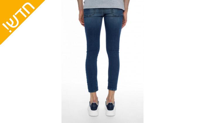 4 מכנסי ג'ינס לגבריםדיזל DIESEL דגםSPENDER-NE בצבע כחול