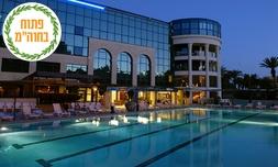 סוכות במלון סנטרל פארק אילת